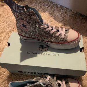 Converse X Chiara Ferrangi platform sneakers